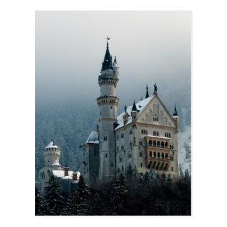 ドイツノイシュヴァンシュタイン城城 ポストカード