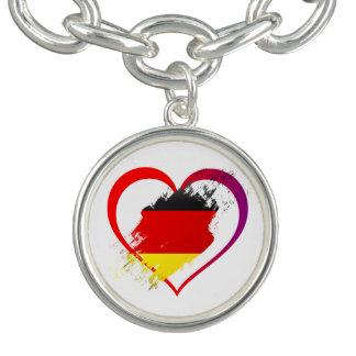 ドイツハート チャームブレスレット