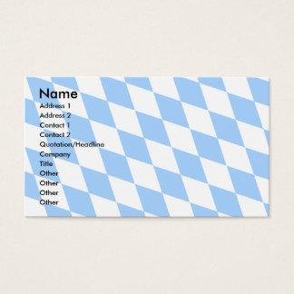 ドイツババリアの旗 名刺