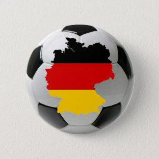ドイツフットボール 5.7CM 丸型バッジ