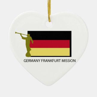 ドイツブランクフルト代表団LDS CTR セラミックオーナメント