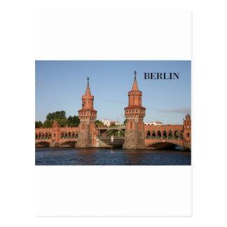 ドイツベルリンOberbaumbrucke (St.K.) はがき