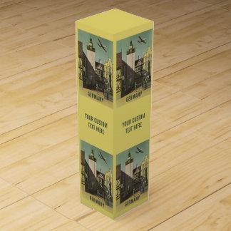 ドイツヴィンテージ旅行ワイン用化粧箱 ワインギフトボックス