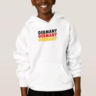 ドイツ三色はフード付きのスエットシャツをからかいます