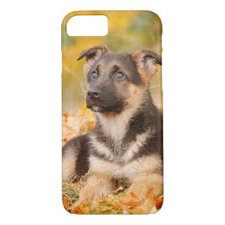 ドイツ人のSheperdの子犬のiPhone 7の場合 iPhone 8/7ケース