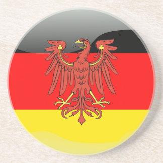 ドイツ光沢のある旗 コースター