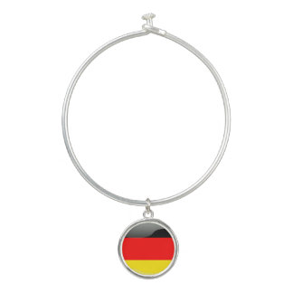ドイツ光沢のある旗 バングルブレスレット