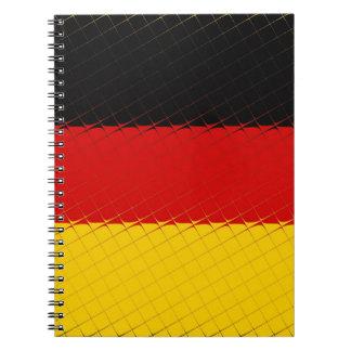 ドイツ国旗 ノートブック