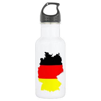 ドイツ地図の旗- ウォーターボトル