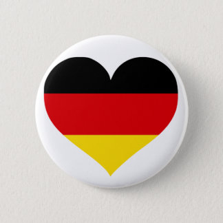 ドイツ愛 5.7CM 丸型バッジ