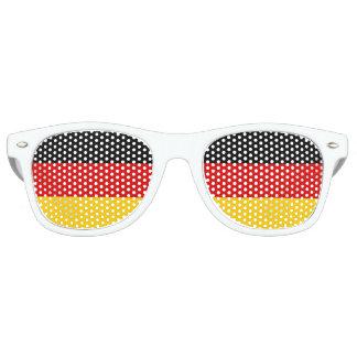 ドイツ旗のサングラス パーティシェイド
