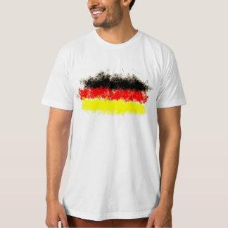 ドイツ旗の落書き Tシャツ