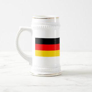 ドイツ旗の~の地図のマグ ビールジョッキ