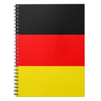 ドイツ旗 ノートブック
