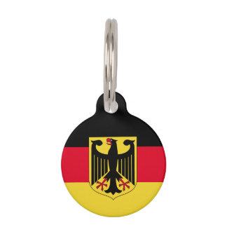 ドイツ旗 ペット ネームタグ