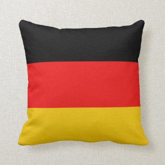ドイツ旗Xの旗の枕 クッション