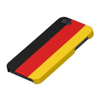 ドイツ精通したiPhone 5の無光沢の終わりの旗 iPhone 5 Case