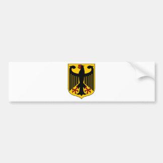 ドイツ紋章付き外衣 バンパーステッカー
