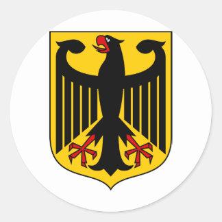 ドイツ紋章付き外衣 ラウンドシール