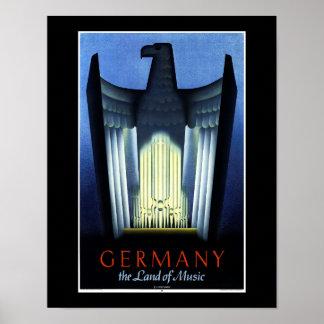 ドイツ観光事業ポスター ポスター
