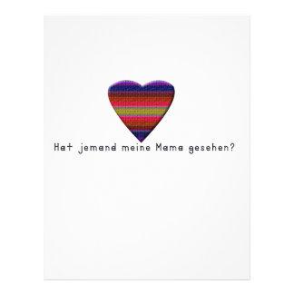 ドイツ語-お母さん レターヘッド