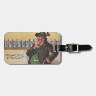 ドイツ語-英語オクトーバーフェスト旅行の荷物のバッグのラベル ラゲッジタグ