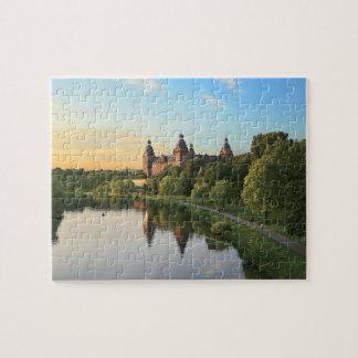ドイツ、アシャッフェンブルク、Schloss (城) ジグソーパズル