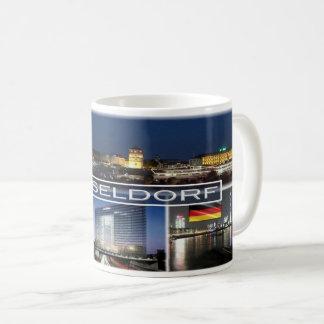 ドイツ-デュッセルドルフ コーヒーマグカップ