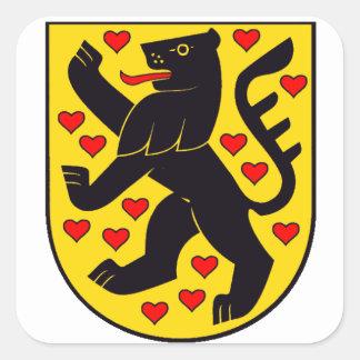 ドイツ ワイマール紋章 スクエアシール