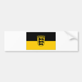 ドイツBaden Wurttemberg旗 バンパーステッカー