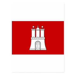 ドイツSchleswigホルスタイン州の旗 ポストカード