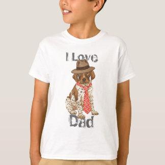 ドイツShorthairedポインターのパパ Tシャツ