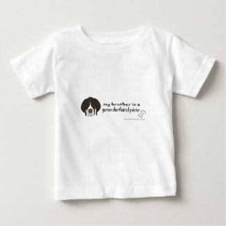 ドイツshorthairedポインター ベビーTシャツ