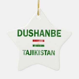 ドゥシャンベタジキスタンのデザイン セラミックオーナメント