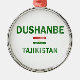 ドゥシャンベタジキスタンのデザイン メタルオーナメント