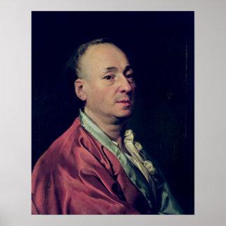 ドゥニ・ディドロ1828-29年 ポスター
