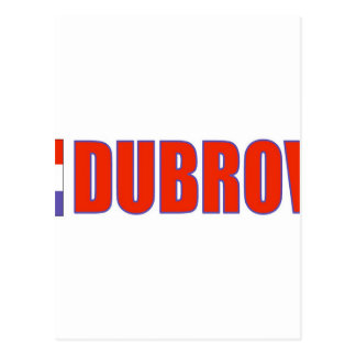 ドゥブロブニクの旗 ポストカード
