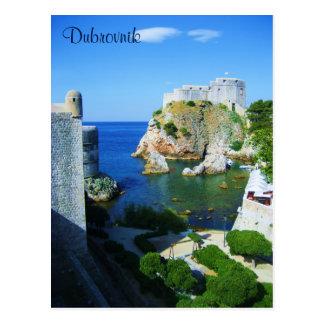 ドゥブロブニククロアチアの郵便はがき ポストカード