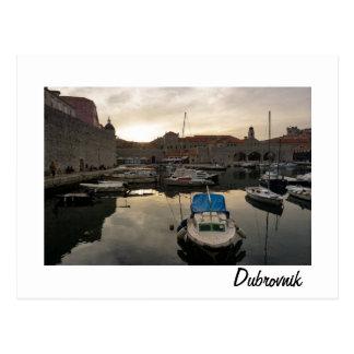 ドゥブロブニク港 ポストカード