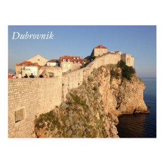 ドゥブロブニク都市壁 ポストカード