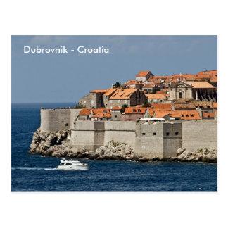 ドゥブロブニク-クロアチアの郵便はがき ポストカード