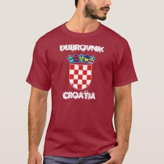 ドゥブロブニク、紋章付き外衣が付いているクロアチア Tシャツ