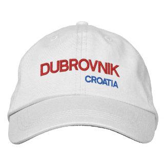 ドゥブロブニク、Croatia*の帽子の   ドゥブロブニクHrvatskaのkappe 刺繍入りキャップ
