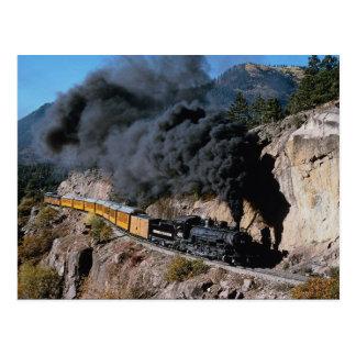 ドゥランゴおよびSilvertonの鉄道、第481、くまのクリー語 ポストカード
