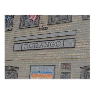 ドゥランゴの駅 ポストカード