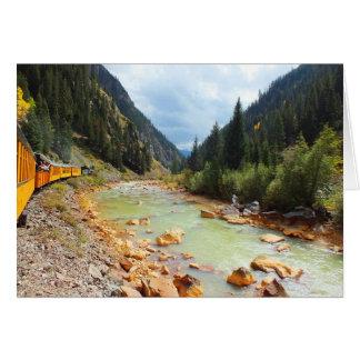 ドゥランゴへの蒸気の列車 カード