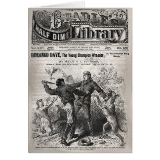 ドゥランゴデーブ-教区小役人の半分のダイムの図書館1904年 カード