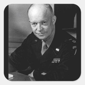 ドゥワイトD. Eisenhower_War大将のイメージ スクエアシール