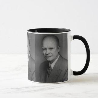 ドゥワイトD. Eiserhower Portrait マグカップ