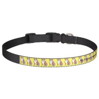ドッグカラーは犬の名前、接触の詳細を加えます ペット首輪